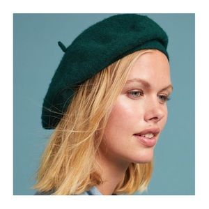 NEW Anthropologie Fall Forward Beret